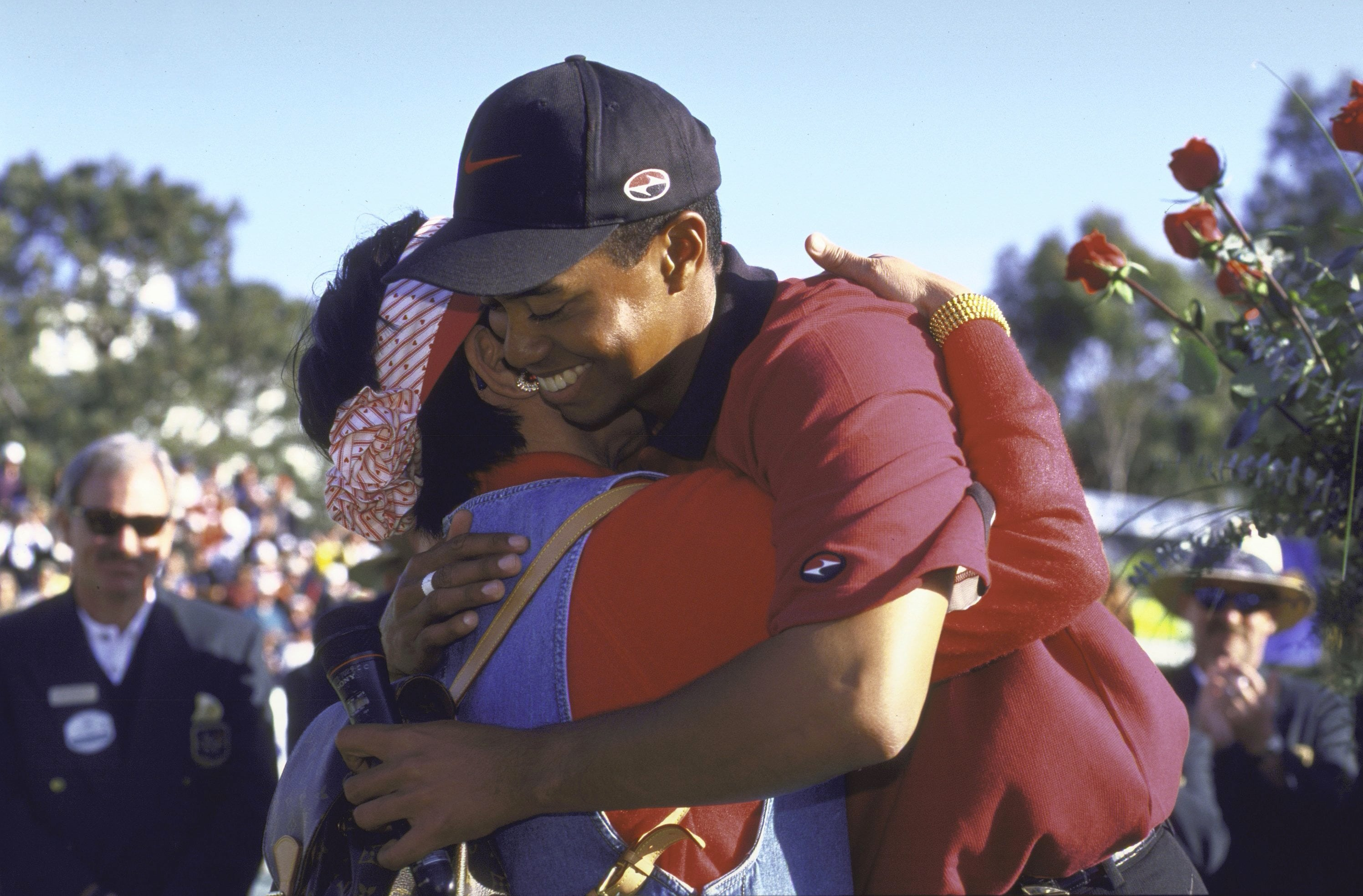 Tiger and Tida Woods