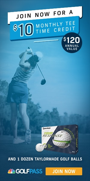 New $10 Anytime Tee Time Credit
