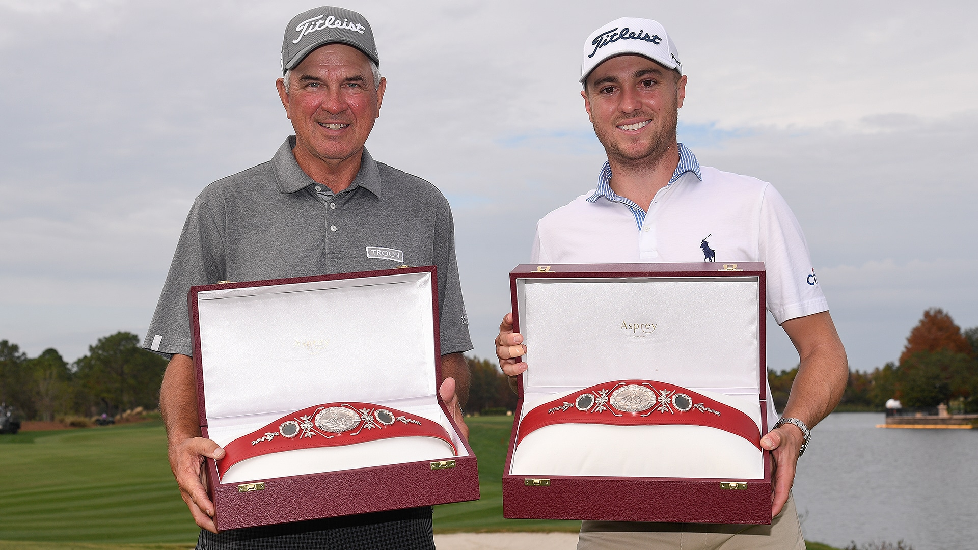 Justin Thomas And Dad Mike Shoot Final Round 57 To Win Pnc Championship Golf Channel