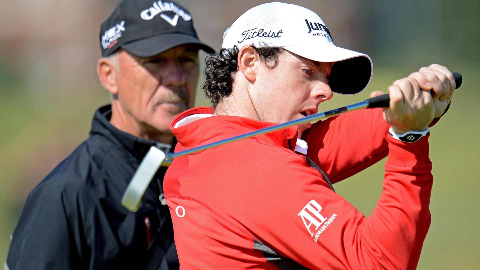 Pete Cowen and Rory McIlroy