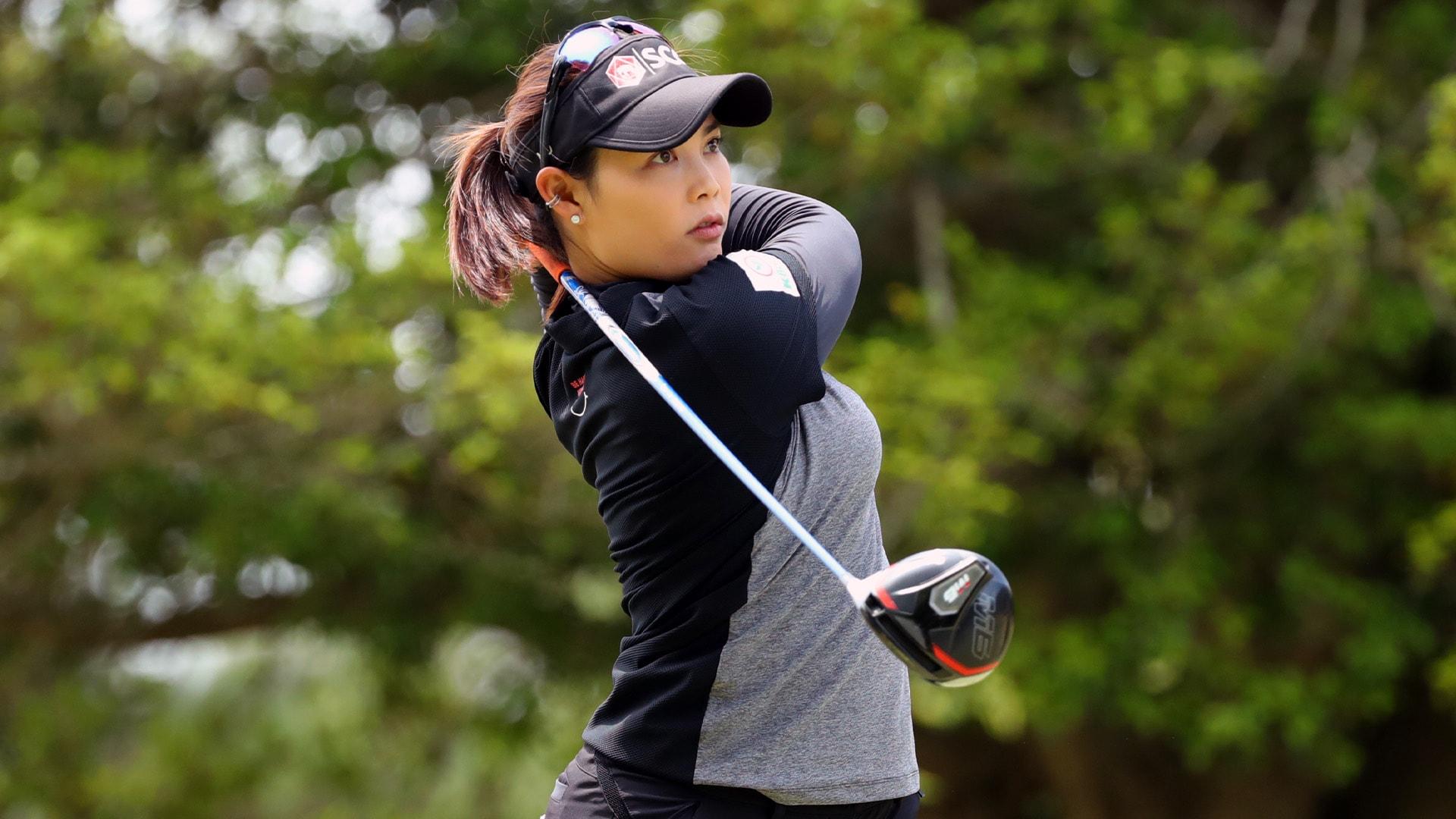 Moriya Jutanugarn tied for lead heading into final day of Pure Silk  Championship | Golf Channel