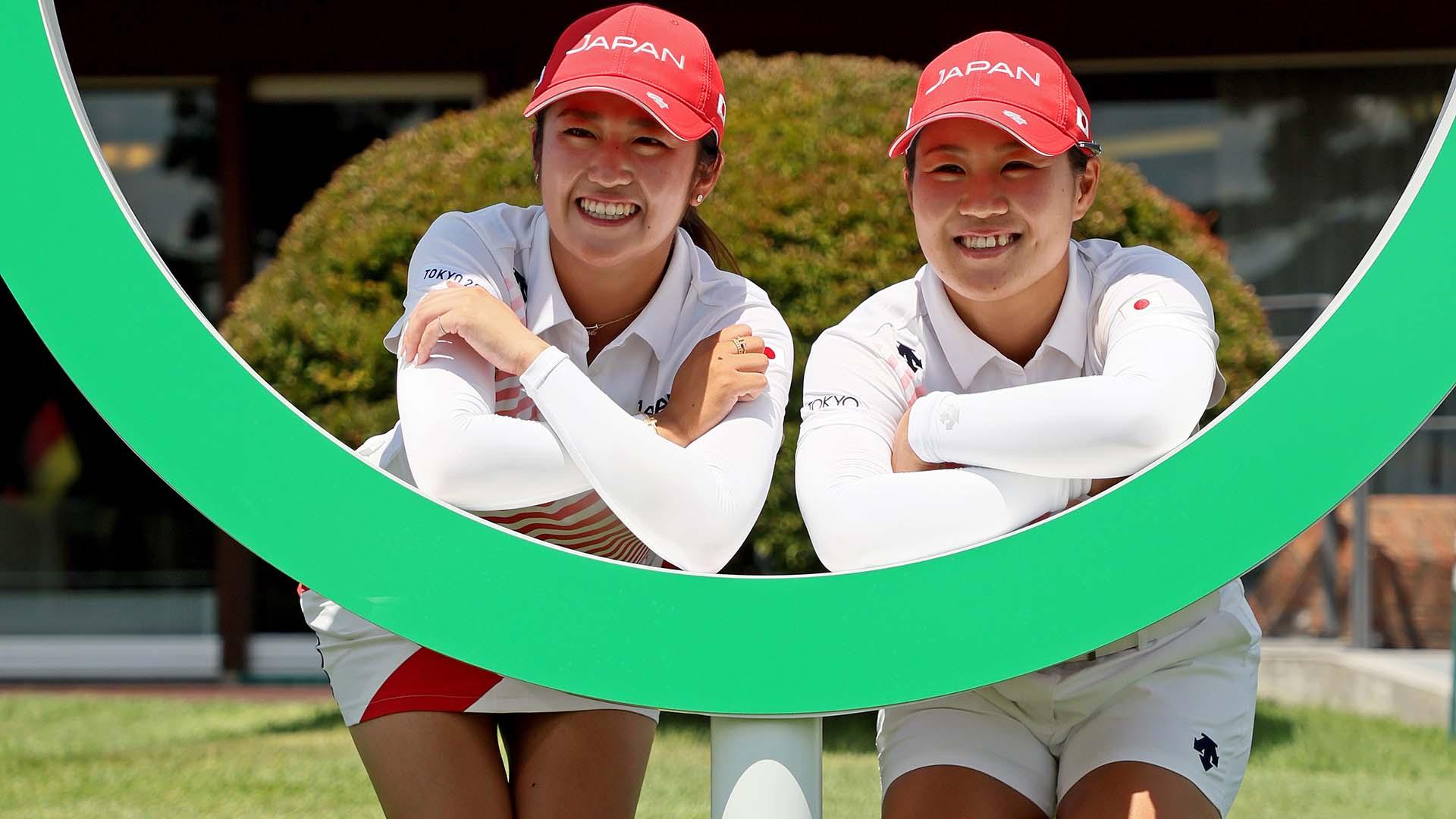 Hataoka and Mone at the 2021 Olympics