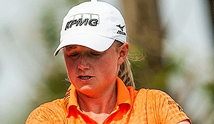 Stacy Lewis at the 2013 Honda LPGA Thailand