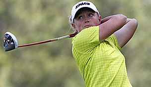 Stacy Lewis in the 2013 Kingsmill Championship second round