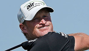 Jamie Donaldson at the 2013 Abu Dhabi HSBC Championship