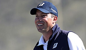 Matt Kuchar in the 2012 WGC-Accenture Match Play Championship quarterfinals