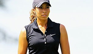 Cheyenne Woods in the 2012 Evian Masters second round