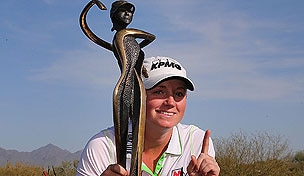 Stacy Lewis at the 2013 RR Donnelly LPGA Founders Cup