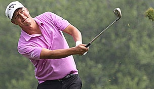 Fredrick Jacobson in the 2012 Travelers Championship second round