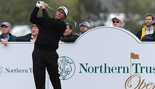 Phil Mickelson at the Northern Trust Open