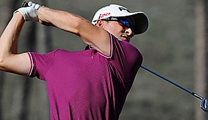 Scott Langley in the 2013 Sony Open in Hawaii first round