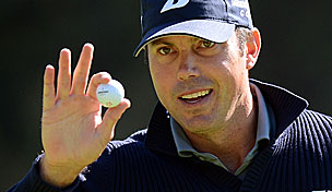 Matt Kuchar in the 2013 Northern Trust Open first round