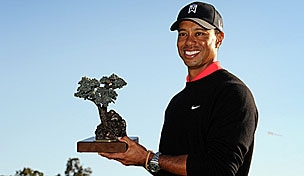 Tiger Woods in the 2013 Farmers Insurance Open final round