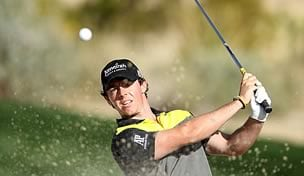 Rory McIlroy at the WGC-Accenture Match Play