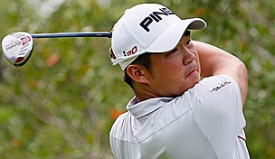 John Huh in the 2012 Mayakoba Golf Classic final round