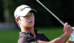 Si Woo Kim at the 2012 PGA Tour Final Qualifying Tournament
