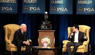 Jim Huber and Rory McIlroy