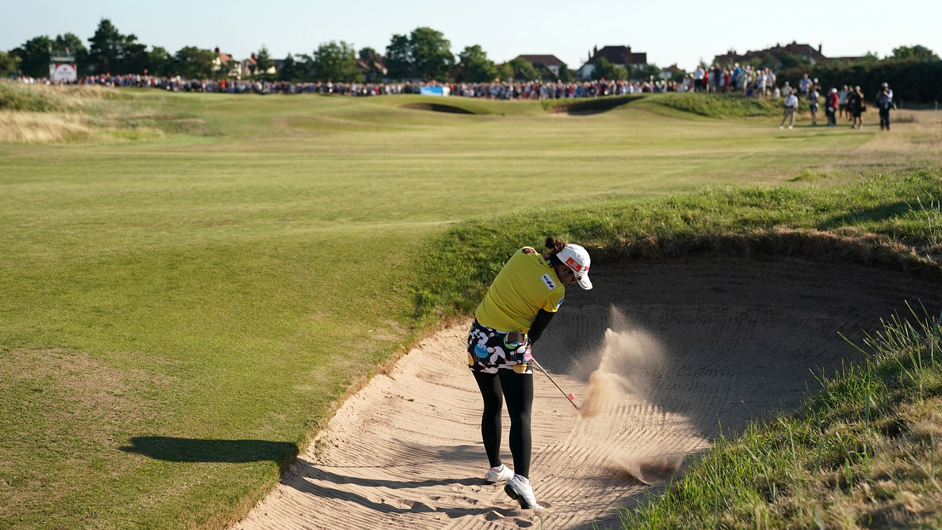 Pornanong Phatlum at the 2018 Ricoh Women's British Open