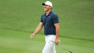 Brooks Koepka at the 2018 WGC-HSBC Champions