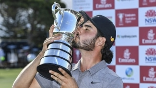 Abraham Ancer wins the 2018 Australian Open