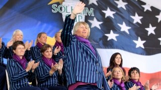 Laura Davies at the 2011 Solheim Cup