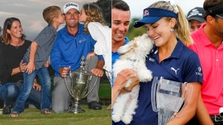 Charles Howell III and Lexi Thompson