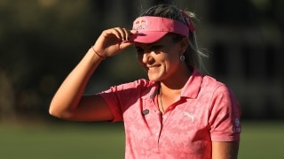 Lexi Thompson at the 2018 CME Group Tour Championship