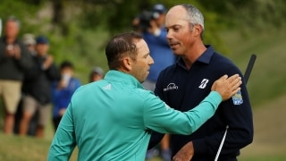 Sergio Garcia and Matt Kuchar
