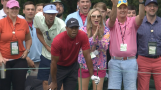 Michael Phelps and Tiger Woods