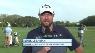 'Extra special being back,' says 2017 API champ Leishman