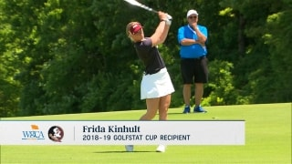 Florida State's Kinhult wins Golfstat Cup