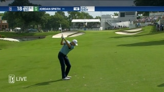 Spieth (65) gets fired up at Colonial