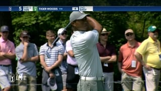 Highlights: Tiger makes early move, fades late on Saturday at Memorial