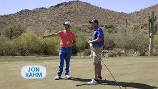 Playing Lessons: Lag putting with Rahm