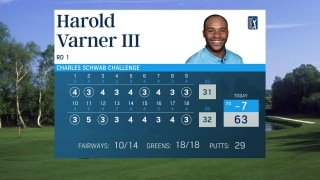 Varner (63) first player since 2010 to hit all 18 greens at Colonial