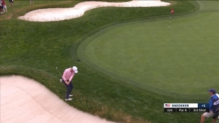 Highlights: Snedeker holes seemingly 'unmakeable' chip