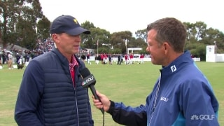 Stricker: U.S. team 'chomping at the bit to get out there and play'