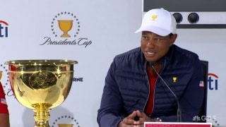 Tiger, U.S. team reflect on Presidents Cup victory