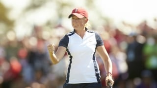 Lewis, Pressel picked for U.S. Solheim Cup team
