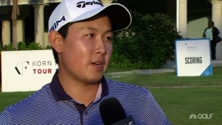 Wu blows 7-shot lead, but 'happy that I still have a chance to win'