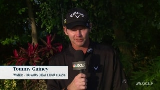 Gainey after KFT win: 'I belong on the PGA Tour'