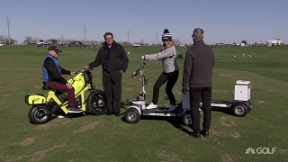 Speed up play with Golfboard Pro, Finn Scooter