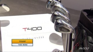 Titleist T400 irons on display at PGA Merchandise Show