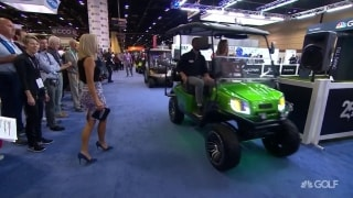 PGA Merchandise Show parade of golf carts