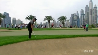 Highlights: Pepperell leads in Dubai; DeChambeau a shot back