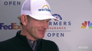 Snedeker (67): 'Excited about how I'm setting up for weekend'