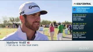 Wolff looking to make a 'splash' as a pro at TPC Scottsdale