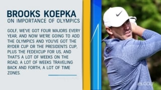 Should Koepka and DJ have more interest in the Olympics?