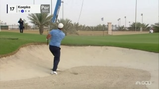 Highlights: Green, McDowell share first-round lead in Saudi