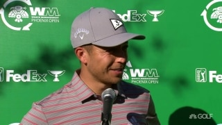 Schauffele (66) plans to 'keep head down early' Sunday at WMPO
